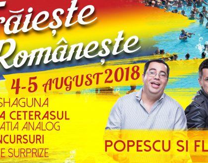 Traieste Romaneste 12 ani Laguna Albastra - 4-5 august 2018