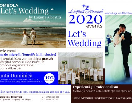 Tombola Let's Wedding 2020 by Laguna Albastra